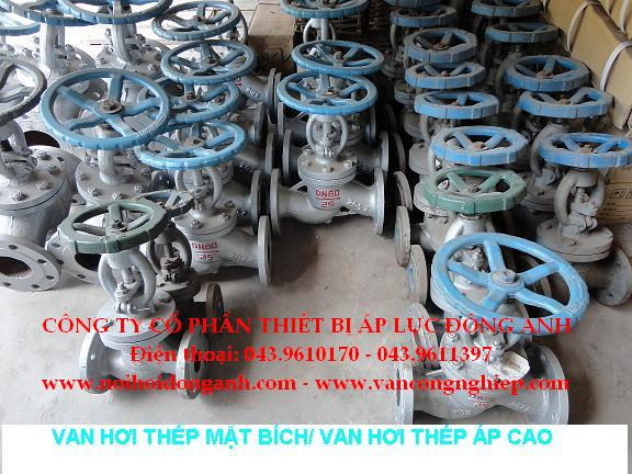 Steam valves - Flanges Globe valves